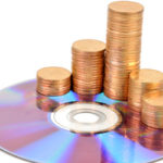 Image of coins on CD
